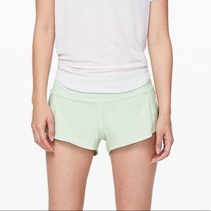 Mystic Mint Lululemon Speed Up Shorts